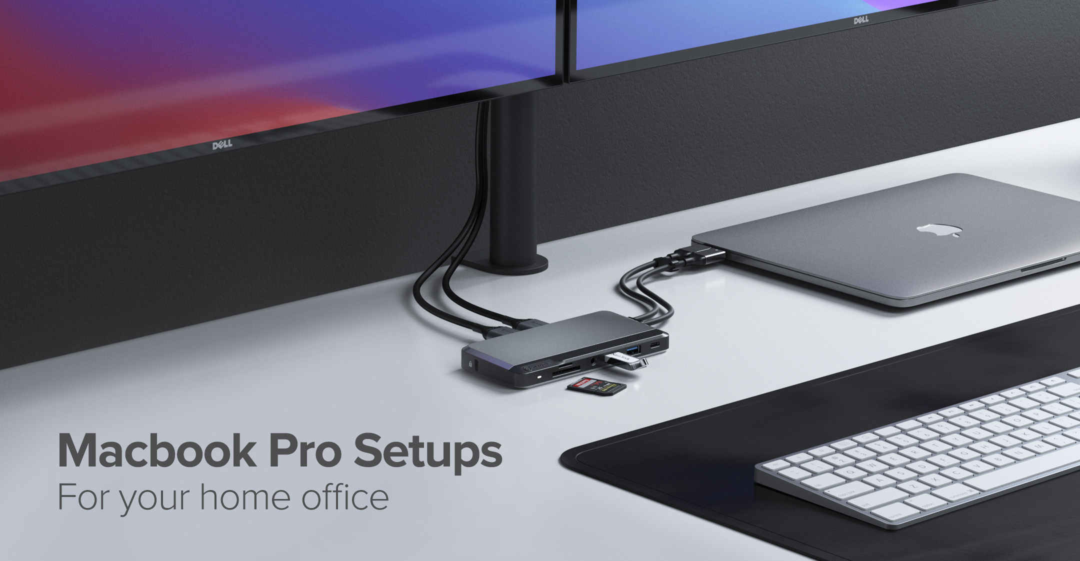 Setting up your Macbook Pro for your home office