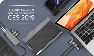 Alogic Unveils New Line of Products at CES 2019