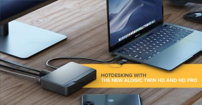 Hotdesking with the new ALOGIC Twin HD and HD Pro