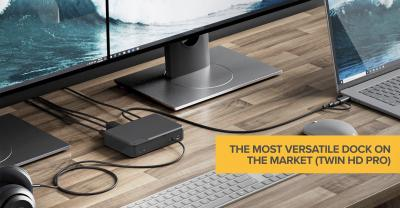 The most versatile dock on the market (Twin HD Pro)