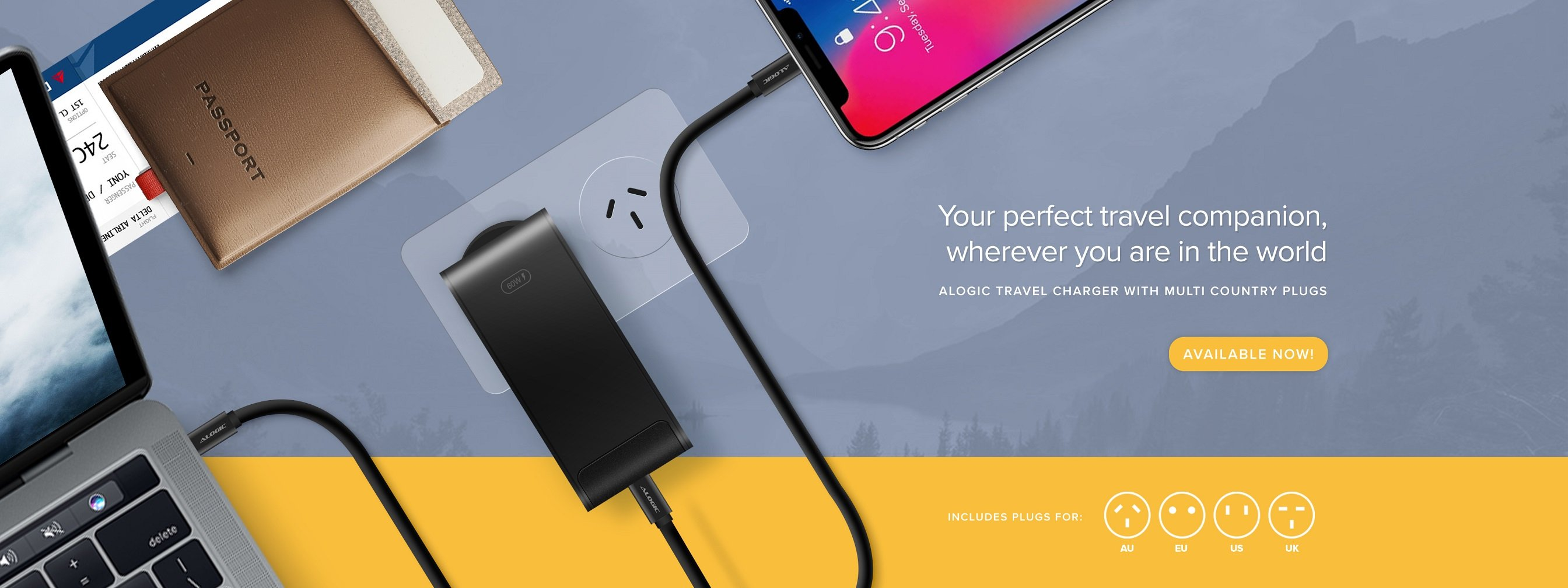 ALOGIC-Travel-Charger-Banner