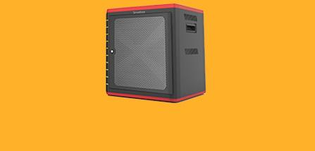 10 Bay Tablet Charge & Sync Cabinet