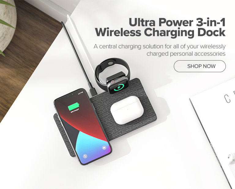 3-in-1 Wireless charger mobile