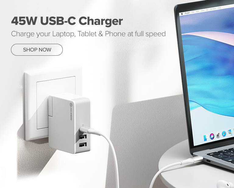 45W Charger Mobile Banner