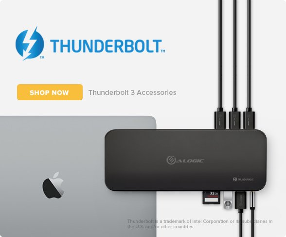 Alogic ThunderBolt Dock